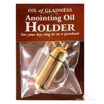 Oil of Gladness Healing Biblical Anointing Prayer Holder for Key Chain N... - $19.99