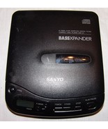 Sanyo BassXpander CD Player Model CDP-31 Portable Personal - $24.00