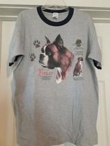 Vintage Boxer Dog Breed Origin Germany Guard Dog Family Pet Adult (L) T-... - $15.67