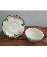 Vintage Franciscan Desert Rose Tea Cup & Saucer~made in U.S.A. - $7.91