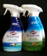 2 Scentiva Fabric Refresher Spray Brazilian Blossoms-Pacific Breeze DISC... - $28.97