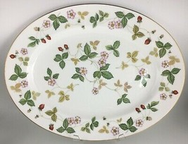 """Wedgwood Wild Strawberry Oval serving platter 15 """" - $40.00"""