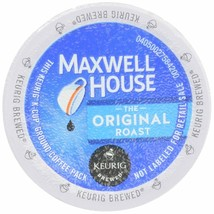 MAXWELL HOUSE COFFEE, ORIGINAL, K-CUP PODS, 4.12 OZ, 12 COUNT - $12.16
