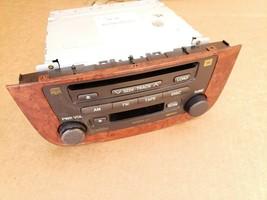 03-07 Highlander Hybrid Stereo CD Disc Cassette Player 86120-48480 image 1