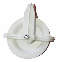 4 Inch Wheel High Grade Plastic Clothesline Pulley Weather Resistant (2 ... - $8.78