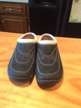 Women Merrell Performance Air Cushion Navy Slip On Clog Mules Shoes - $21.99
