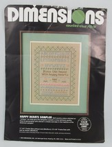 Dimensions Bless this House Happy Hearts Sampler Counted Cross Stitch Kit 3594 - $19.30