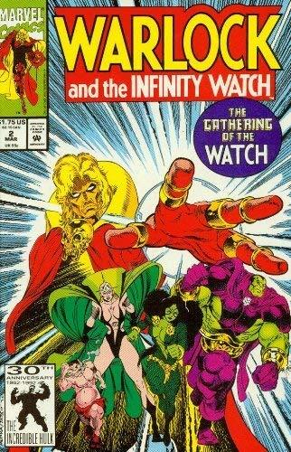 Warlock and the Infinity Watch #2 Gathering the Watch! [Comic] [Jan 01, 1992] Ji