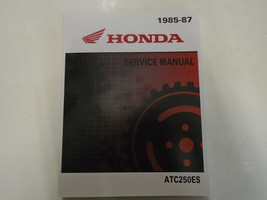 1985 1986 1987 Honda ATC250ES Groß Rot Atc 250 Service Shop Repair Manue... - $118.46