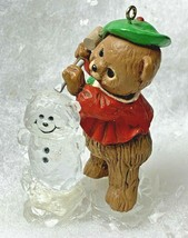 Vintage 1981 Hallmark The Ice Sculptor bear ornament - $9.99