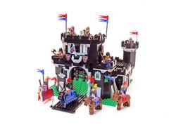 Lego Castle Black Knights Set 6085-1 Black Monarch's Castle 100% cmpl. +... - $199.99