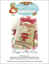 Kringle's Hot Cocoa christmas cross stitch chart Sugar Stitches Designs  - $6.00