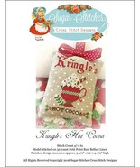 Kringle's Hot Cocoa christmas cross stitch char... - $6.00