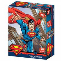 DC Comics Superman Flying 3D Image 300pc Puzzle Multi-Color - $19.98