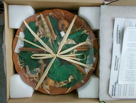 Home Interiors Potpourri Gift Bowl Cinnamon Peach Cobbler Boxed - $19.79