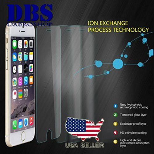 "Premium Real Tempered Glass Film Screen Protector for Apple 4.7"" iPhone 7"