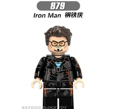 Sale Super Hero Armored Iron Man 879 Building Block Brick Figures For Ch... - $0.90