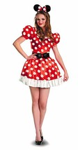 Disguise Disney Minnie Mouse Mickey Adult Womens Classic Halloween Costu... - $45.67+