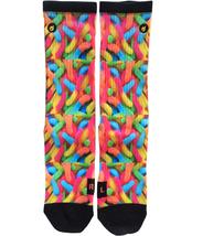 Custom Gummy Worms Socks ALL Sizes FAST SHIPPING - $12.99