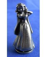 Monopoly Disney Snow White Token Gunmetal Replacement Game Piece Part - $7.99