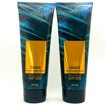 2-Pack Bath & Body Works OASIS Men's Collection Ultra Shea Body Cream 8 ... - $24.74