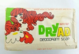 VTG DryAd Andrew Jergens Deodorant Soap Bar 5 o... - $14.84