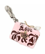 Juicy Couture Charm Love G&P Pave Crown Laptop Silvertone NEW - $77.22