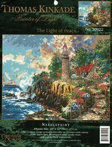 "Candamar Designs Needlepoint Thomas Kinkade The Light of Peace Kit 14"" x... - $18.99"