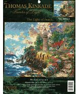 "Candamar Designs Needlepoint Thomas Kinkade The Light of Peace Kit 14"" x 11"" - $18.99"