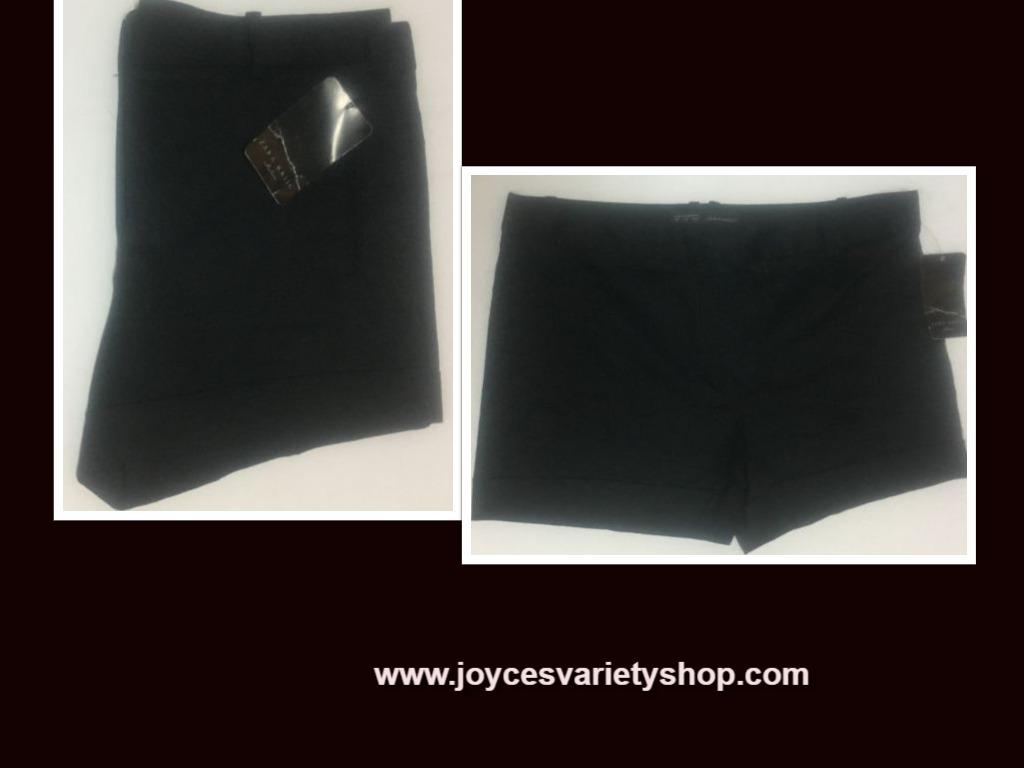 Zara black shorts web collage
