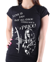 "Once Upon a Time ""Rumplestiltskin"" - Version 2 with Text - Ladies Black ... - €12,45 EUR"