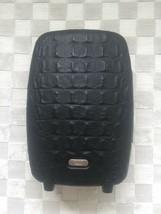 Alexander Mc Queen Samsonite Black Crocodile Trolley Upright Luggage Suitcase - $1,089.00