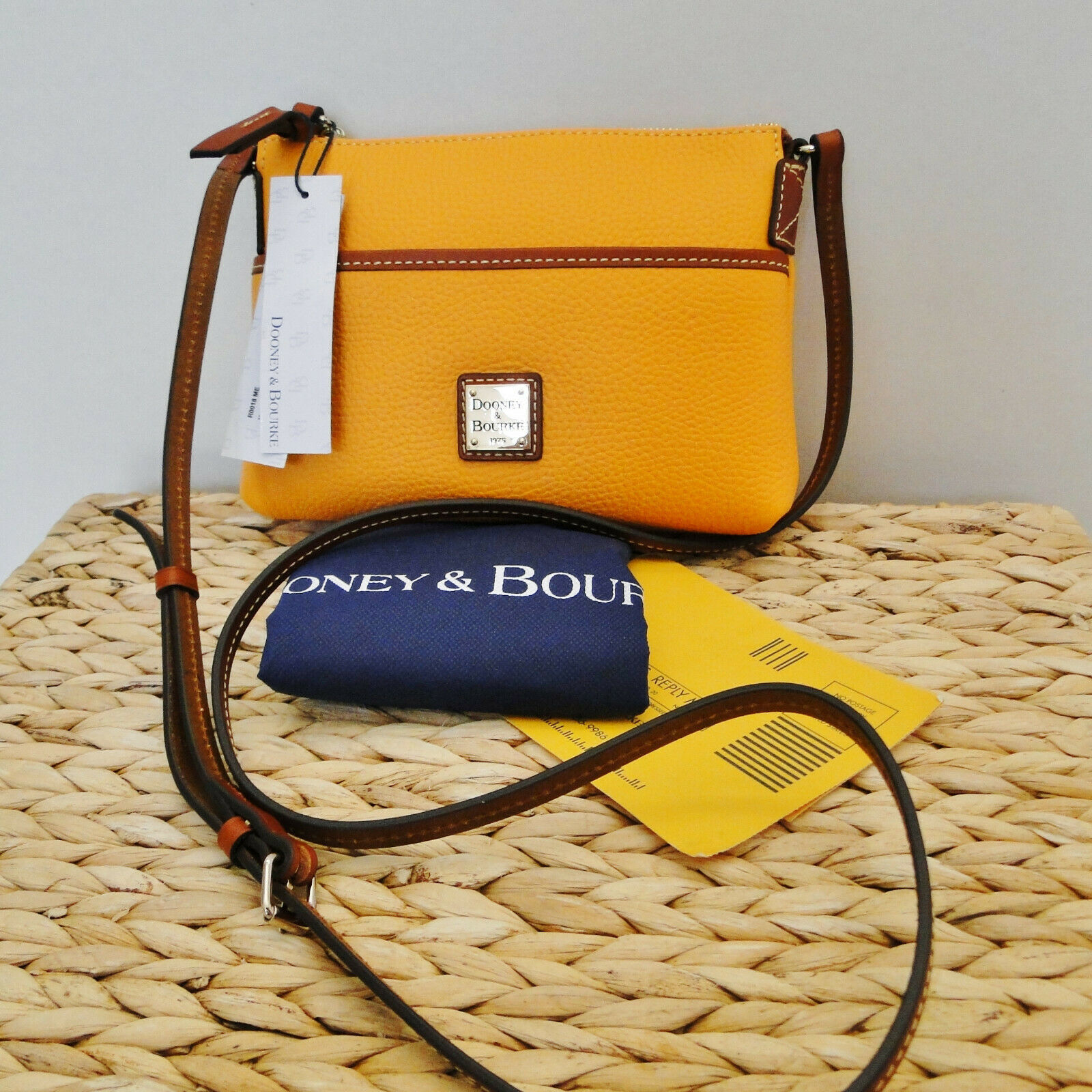 Dooney & Bourke Pebble Ginger Crossbody MELON COLOR
