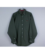Montauk Tackle Fishing Shirt Advantage Pima Twill Button Up Men's Medium... - $21.99