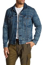 Levi's Men's Premium Button Up Distressed Denim Trucker Jean Jacket 723340264 image 1