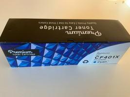 PREMIUM TONER CARTRIDGE CYAN replaces HP CF401X - $49.99