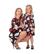 New Fashion Christmas Long Sleeve Mommy and Me Family Matching Mother Da... - $46.36+