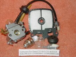 Carburetor For Zama C1U-K43 C1U-K43A B Echo PB-2155 12520020663 12520020... - $12.93