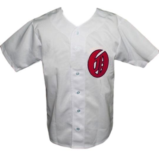 Oakland oaks pcl retro baseball jersey 1946 button down white   1