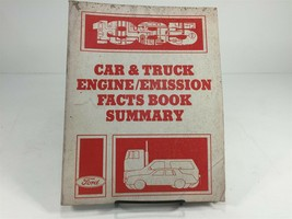 1985 Ford Car & Truck Engine Emission Facts Book Summary - $14.99