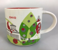 Starbucks Ohio You Are Here Coffee Mug Cup 14 oz YAH Collection 2016 - $31.85