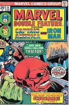 Marvel Double Feature Comic Book #14 Marvel Comics 1976 FINE+ - $3.99