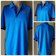 Nike Dri-Fit NFL Los Angeles Chargers Training Men's Shirt Polo Blue Siz... - $24.06