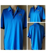 Nike Dri-Fit NFL Los Angeles Chargers Training Men's Shirt Polo Blue Siz... - $24.06