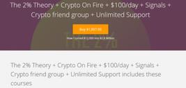 Anna Macko The 2% Theory + Crypto On Fire + $100/day - $4.70