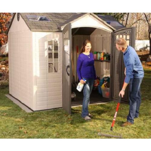 Lifetime 10x8 Side Entry Storage Shed w/ Floor [60178]