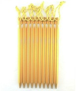 King of Kings Tent Ground Stakes 8.5in + Aluminum 10-Piece Camping Outdoor - $7.81