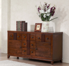 Country Buffet Cabinet Sideboard Server Credenza Storage Drawers Doors F... - $665.63