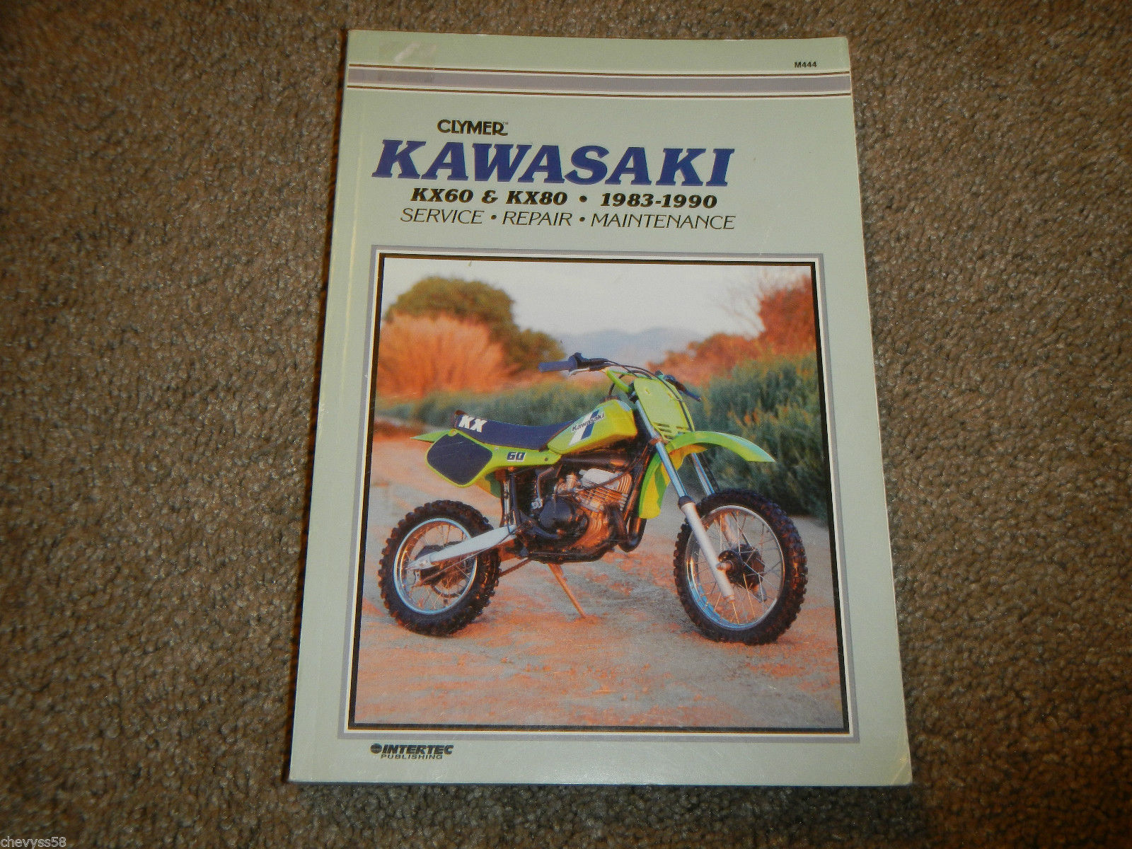 1983-1990 KAWASAKI KX60 KX80 CLYMER MOTORCYCLE SHOP SERVICE REPAIR MANUAL