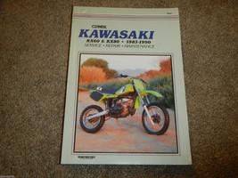 1983-1990 Kawasaki KX60 KX80 Clymer Motorcycle Shop Service Repair Manual - $15.32
